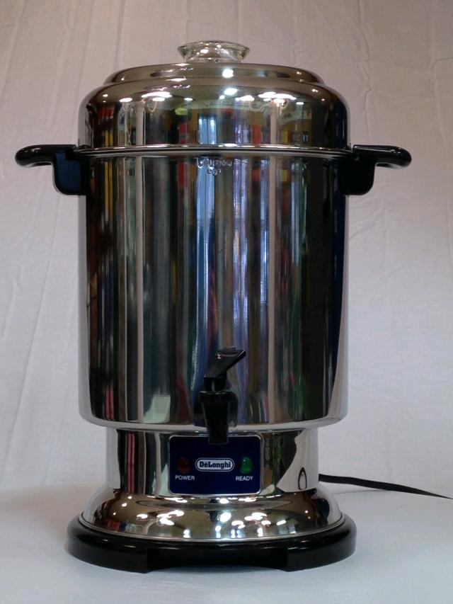 Where to find COFFEE POT STAINLESS  60 CUP in Andover
