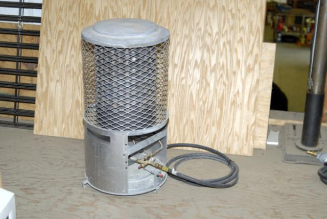 Where to find RADIANT PROPANE HEATER  100K BTU in Andover