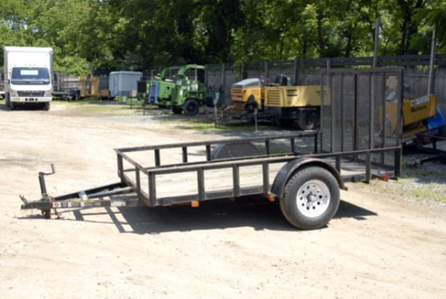 Where to find 6X10 LANDSCAPE TRAILER  BLACK in Andover