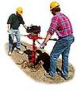 Where to rent TWO MAN POST AUGER  5 HP in Andover NJ