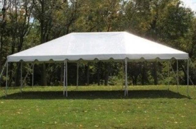 Where to find FRAME TENT 20X30  WHITE in Andover