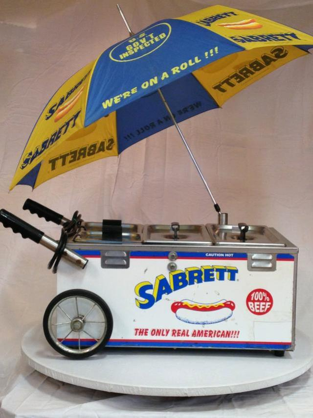 Where to find HOT DOG CART MINI  SABRETT in Andover
