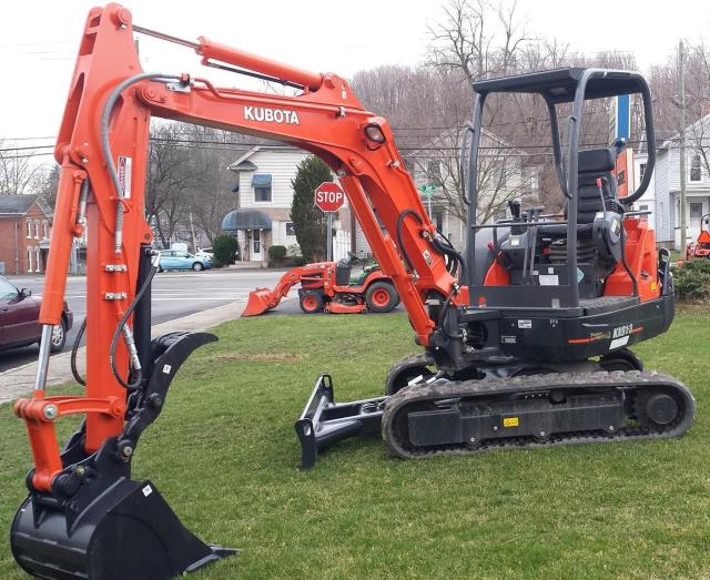 Where to find EXCAVATOR  KUBOTA KX-91  02 in Andover