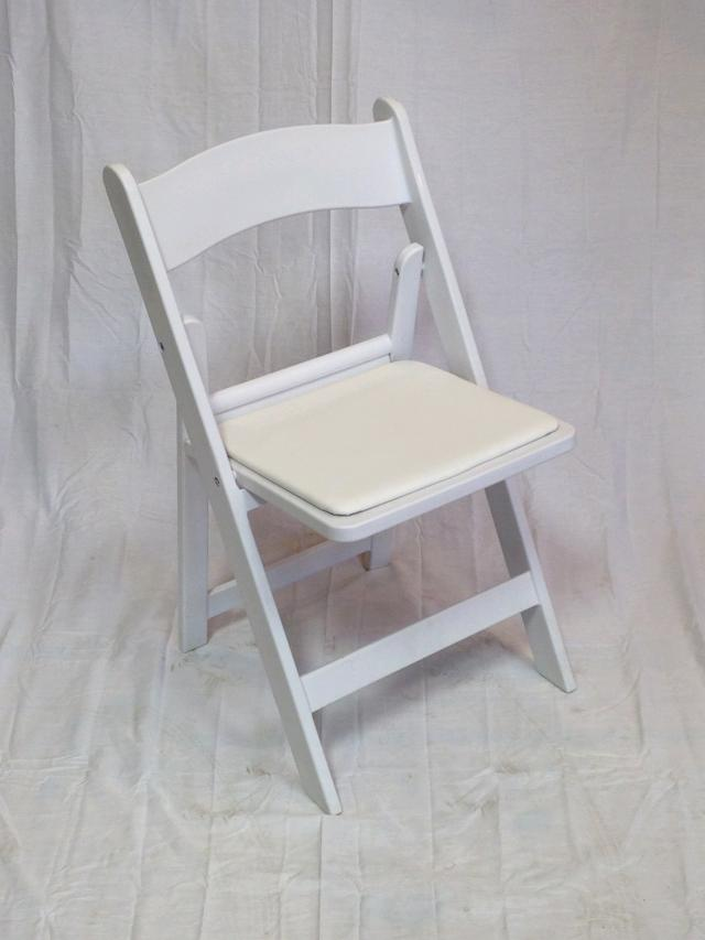 Where to find WHITE PADDED CHAIR  INDOOR ONLY in Andover