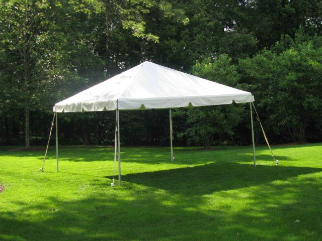 Where to find FRAME TENT 10X10  WHITE YELLOW in Andover