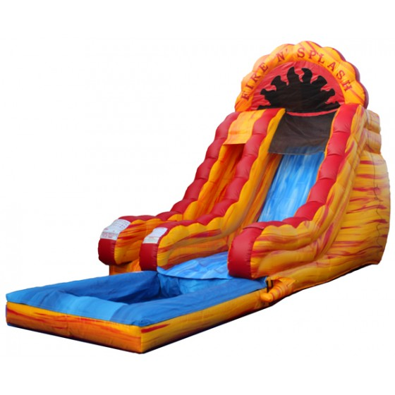 Where to find FIRE   SPLASH WATERSLIDE  09378 in Andover