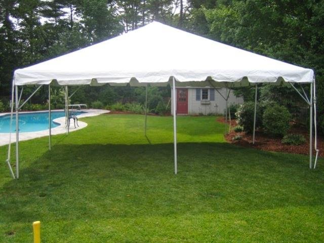 Where to find FRAME TENT 20X20  WHITE in Andover