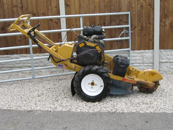 Where to find STUMP GRINDER  20 HP in Andover