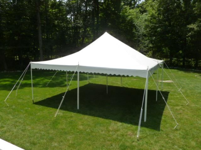 Where to find TENT 20X20  WHITE in Andover