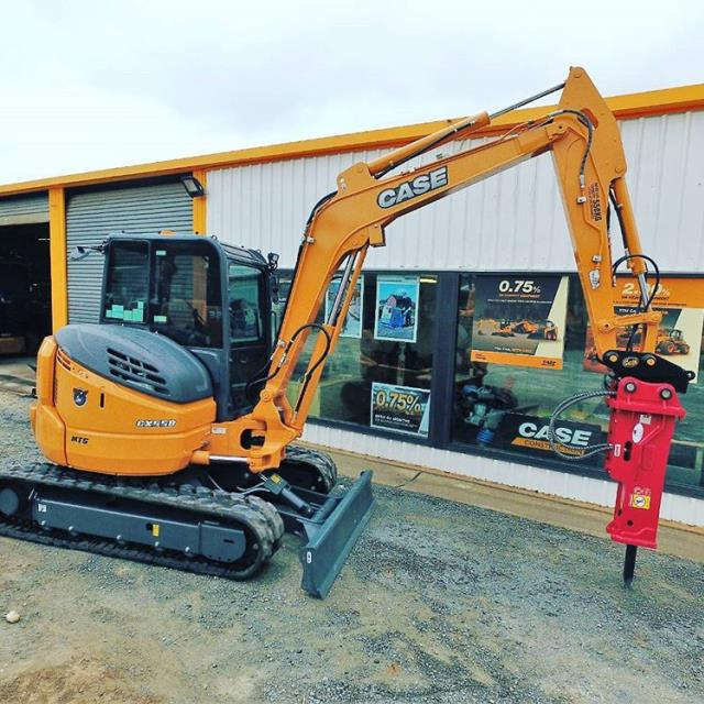 Where to find EXCAVATOR  CASE CX80  WITH 2K LB HAMMER in Andover